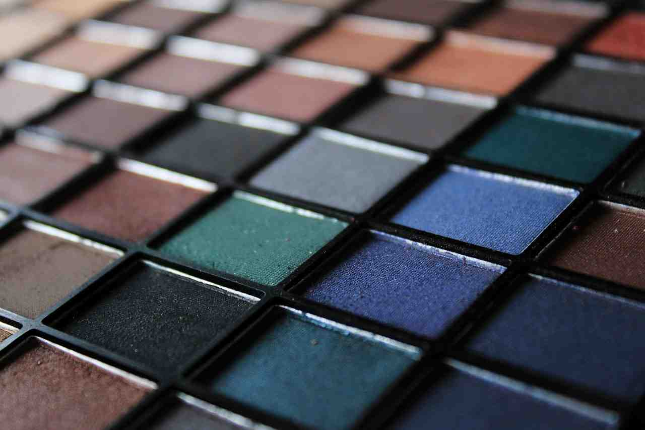 eye shadow, cosmetics, color palette